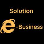 Logo e-business